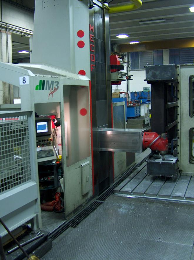 Mecof Agile M3 Travelling Column Milling Machine - Perozeni