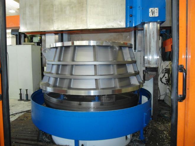 Tornio Verticale P. Carnaghi Ac 18 Cnc Siemens