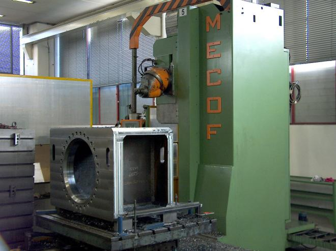 Mecof Cs 200/B Travelling Column Milling-Boring Machine