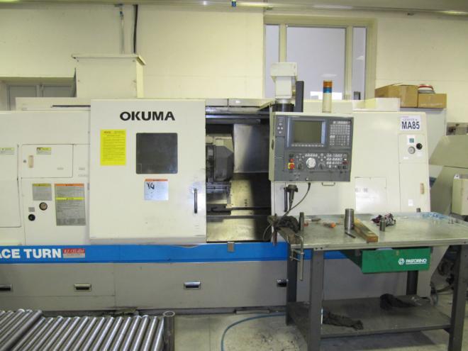 Okuma Lb 400 a Cnc Lathe
