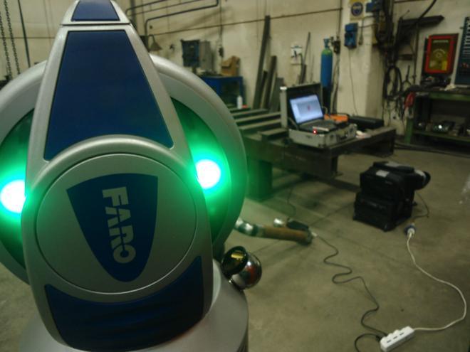 Instrument Dimension Control Cam2 Faro Laser Tracker Vantage